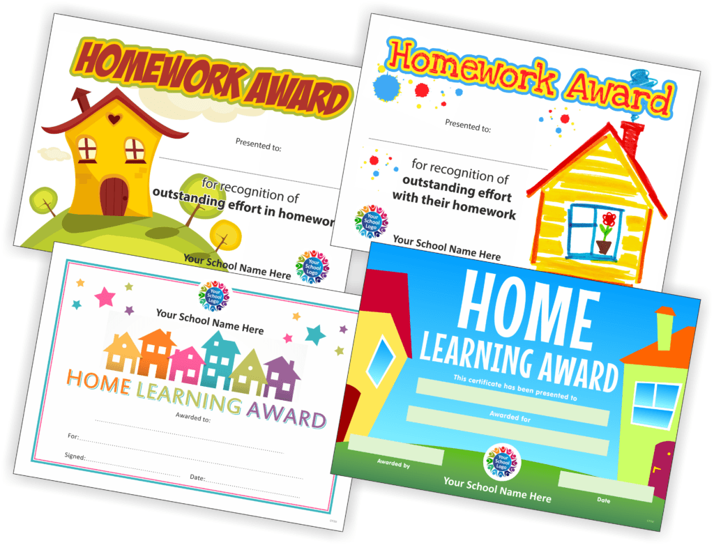 Home Learning Certificates
