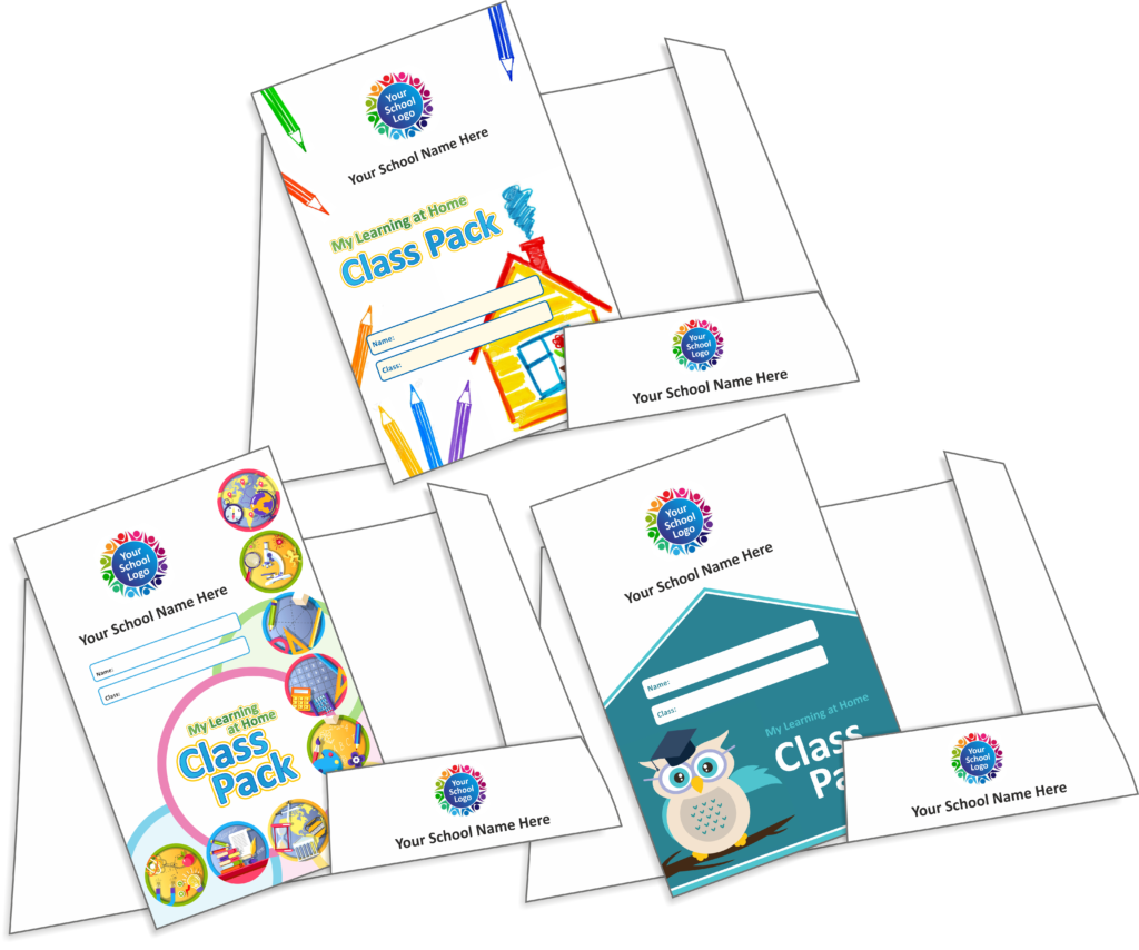 Home Learning Class Pack Folders