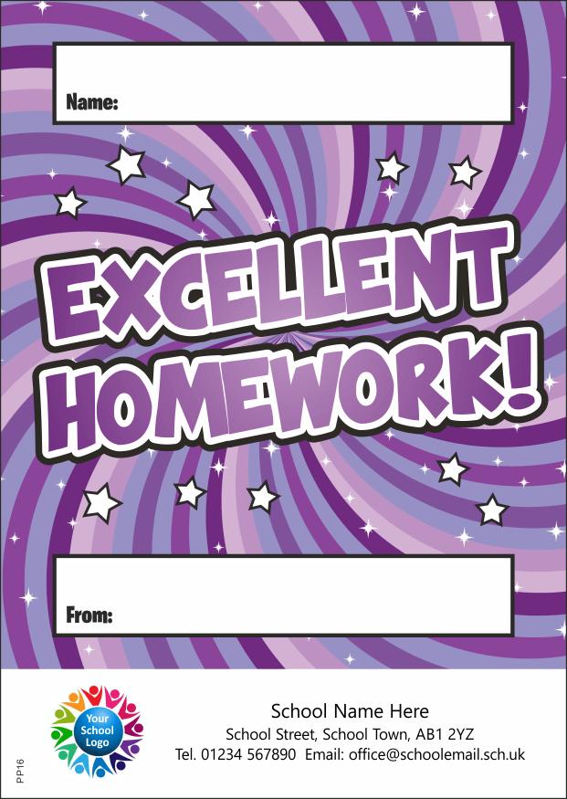 Excellent Homework - Praise Pad