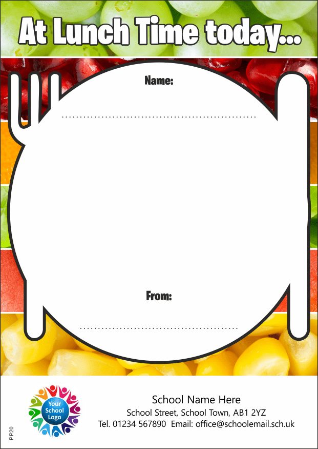 Lunchtime Award - Praise Pad